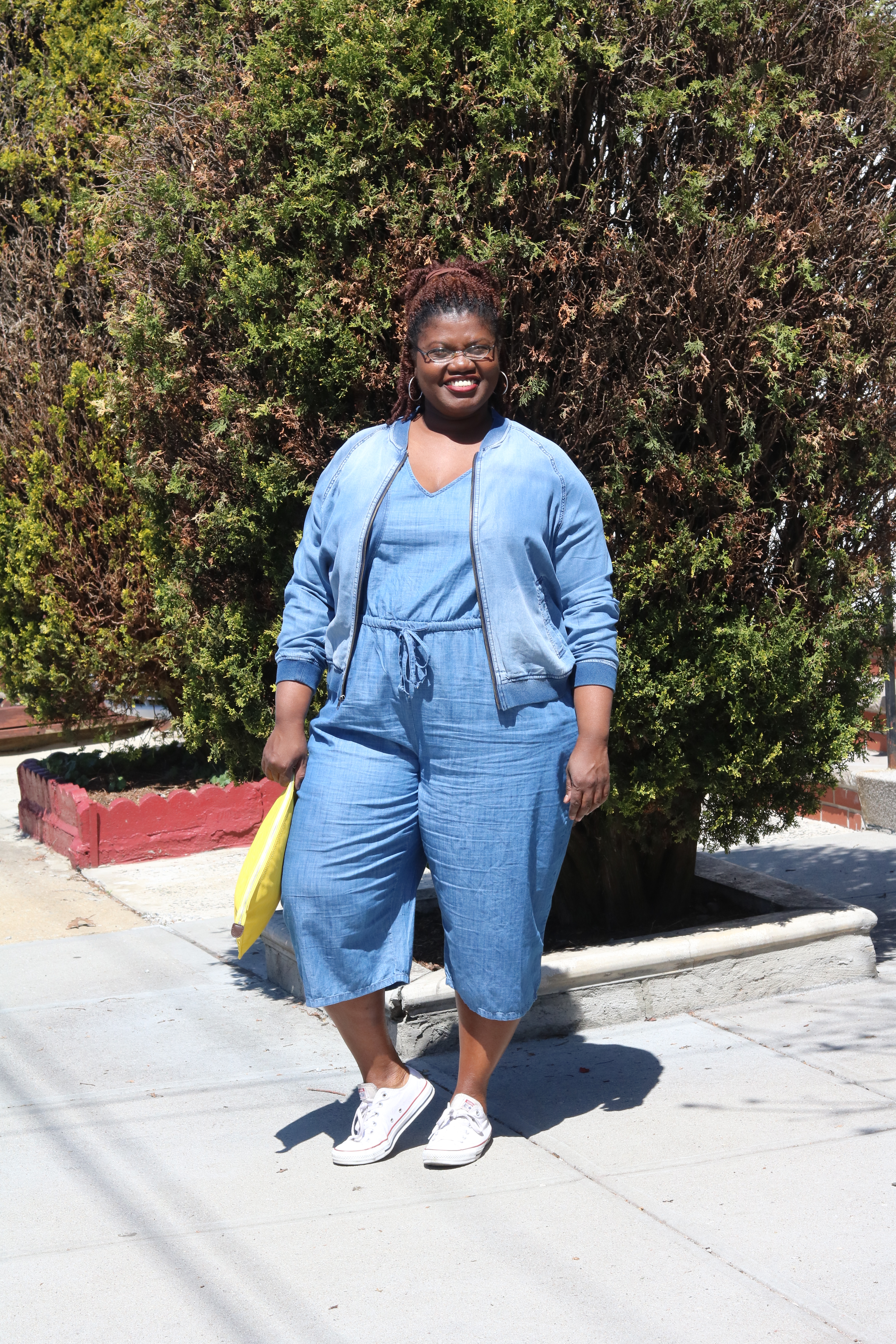 82e38a7a5ea Casual Friday  Denim on Denim – Grown and Curvy Woman