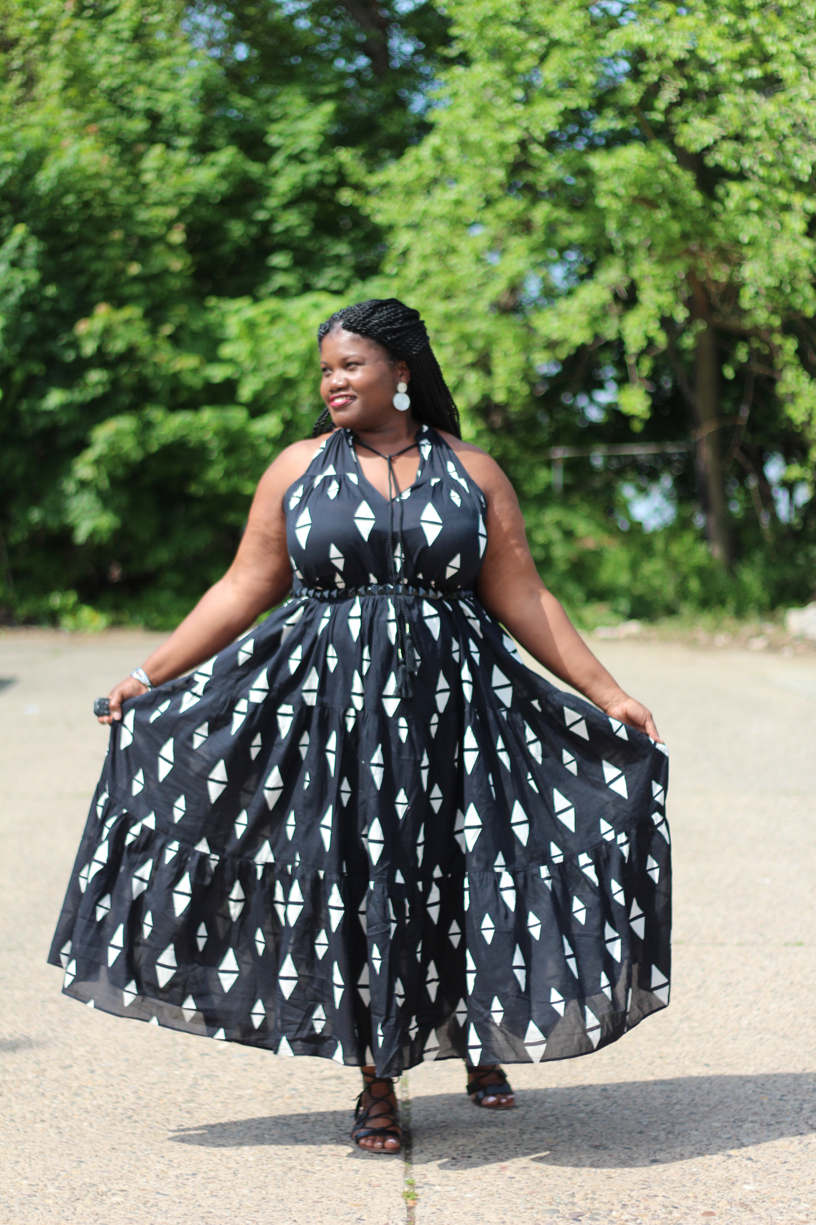 Plus Size Maxi Dress Pattern - AByte Computer Solutions